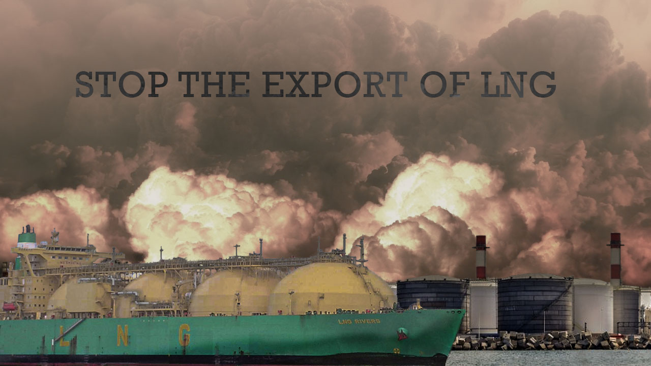 Petition to stop all LNG export projects across the U.S.10