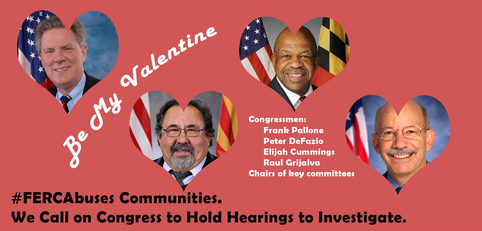 Tell Congress Time to Investigate FERC!15